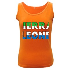 Sierra Womens  Tank Top (dark Colored)