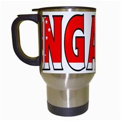Singapore Travel Mug (White)