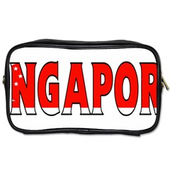 Singapore Travel Toiletry Bag (One Side)