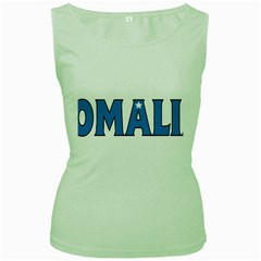 Somalia Womens  Tank Top (Green)