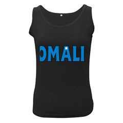 Somalia Womens  Tank Top (Black)