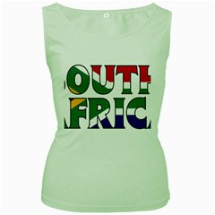 South Africa Womens  Tank Top (Green)