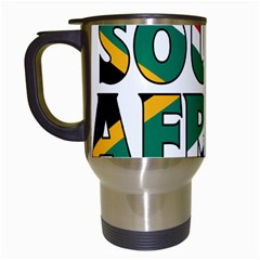 South Africa Travel Mug (White)