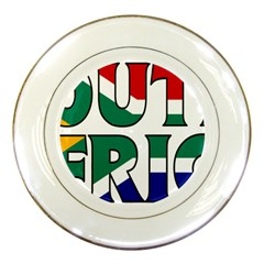 South Africa Porcelain Display Plate