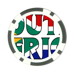 South Africa Poker Chip 10 Pack