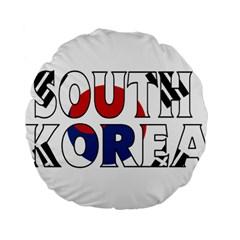 South Korea 15  Premium Round Cushion