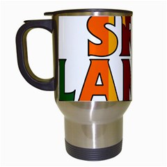 Sri Lanka Travel Mug (White)