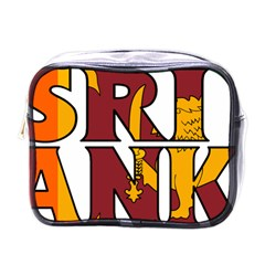 Sri Lanka Mini Travel Toiletry Bag (One Side)