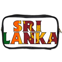 Sri Lanka Travel Toiletry Bag (One Side)