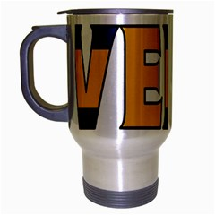 Sweden Travel Mug (Silver Gray)