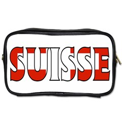 Switzerland 2 Travel Toiletry Bag (One Side)