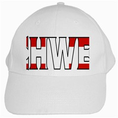 Switzerland 3 White Baseball Cap