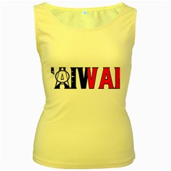 Taiwan Womens  Tank Top (Yellow)