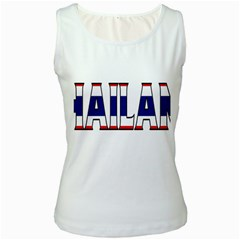 Thailand Womens  Tank Top (white)