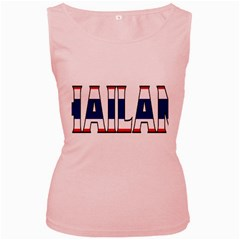 Thailand Womens  Tank Top (Pink)
