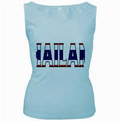 Thailand Womens  Tank Top (baby Blue)
