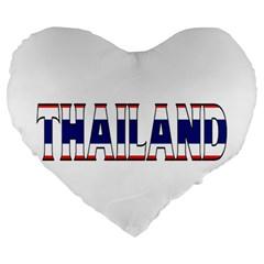 Thailand 19  Premium Heart Shape Cushion