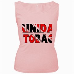 Trinidad Womens  Tank Top (Pink)