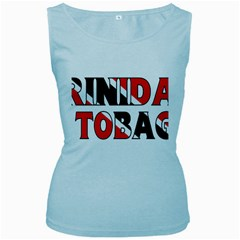 Trinidad Womens  Tank Top (Baby Blue)
