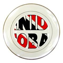 Trinidad Porcelain Display Plate