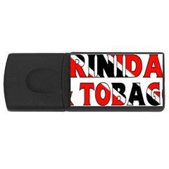 Trinidad 4GB USB Flash Drive (Rectangle)