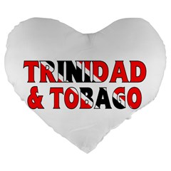 Trinidad 19  Premium Heart Shape Cushion