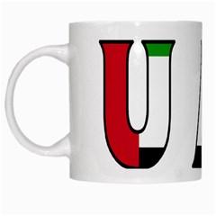 Uae White Coffee Mug