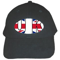 Uk Black Baseball Cap