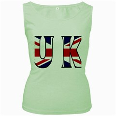 Uk Womens  Tank Top (Green)