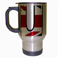 Uk Travel Mug (Silver Gray)