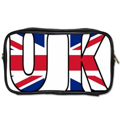 Uk Travel Toiletry Bag (one Side)