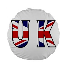 Uk 15  Premium Round Cushion