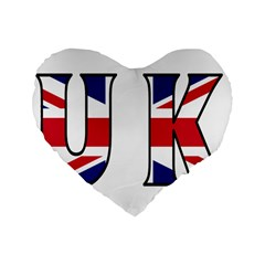 Uk 16  Premium Heart Shape Cushion