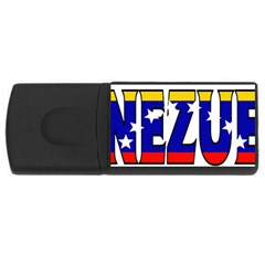 Venezuela 4gb Usb Flash Drive (rectangle)