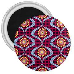 Blosson 3  Button Magnet