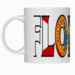 Florida White Coffee Mug