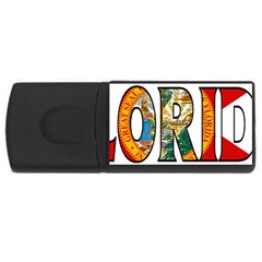Florida 2GB USB Flash Drive (Rectangle)