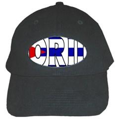 Florida Cuban Black Baseball Cap