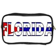 Florida Cuban Travel Toiletry Bag (One Side)