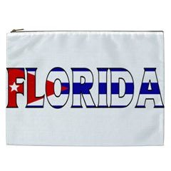 Florida Cuban Cosmetic Bag (XXL)