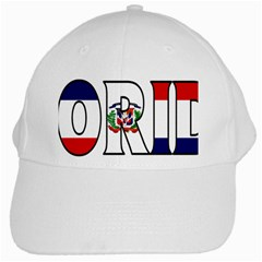 Florida Dominican Republic White Baseball Cap