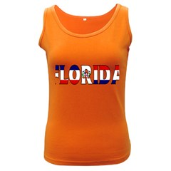 Florida Dominican Republic Womens  Tank Top (dark Colored)