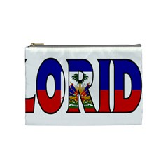 Florida Haiti Cosmetic Bag (Medium)