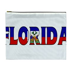 Florida Haiti Cosmetic Bag (XL)