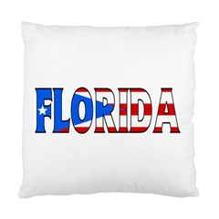 Florida P Rico Cushion Case (One Side)
