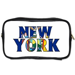New York Travel Toiletry Bag (One Side)
