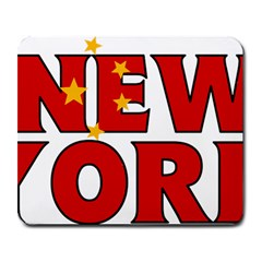 New York China Large Mouse Pad (Rectangle)