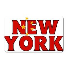 New York China Magnet (Rectangular)