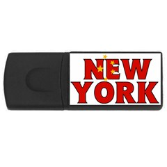 New York China 2GB USB Flash Drive (Rectangle)