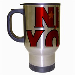 New York China Travel Mug (silver Gray)